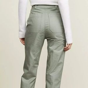 NWT SHOPBOP The Script Claudia Pants Vert Cuffed